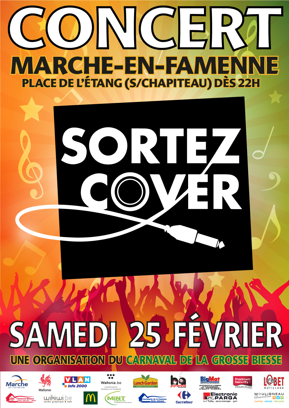 Affiche Sortez cover 2017 md